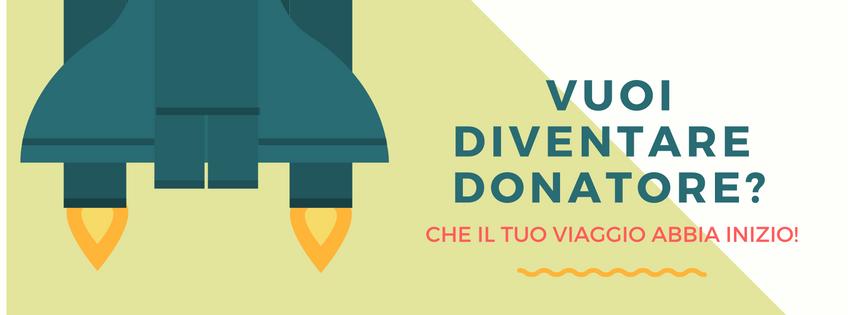 Vuoi diventare donatore