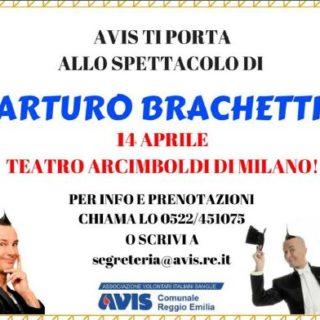 Arturo Brachetti con Avis