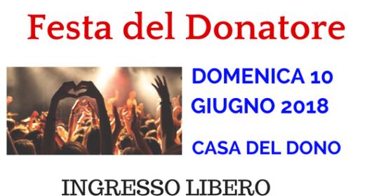 Festa del Donatore Banner